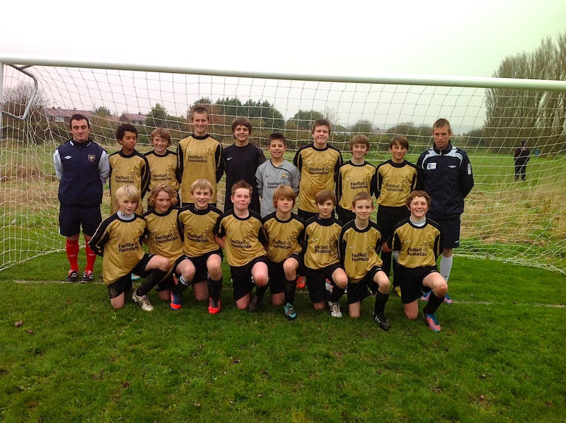 West Cornwall U13 Football web