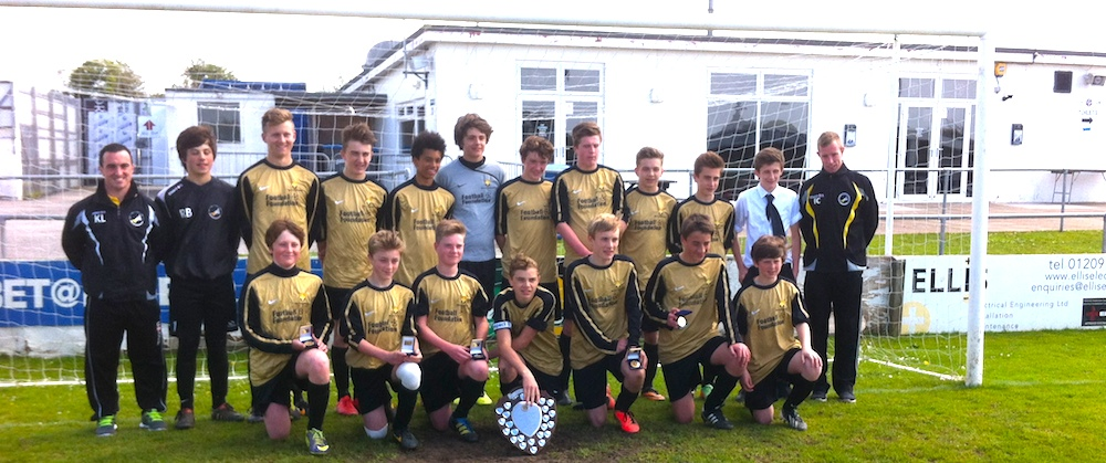 Cornwall U14 winner