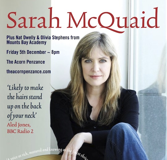 Sarah McQuaid web copy