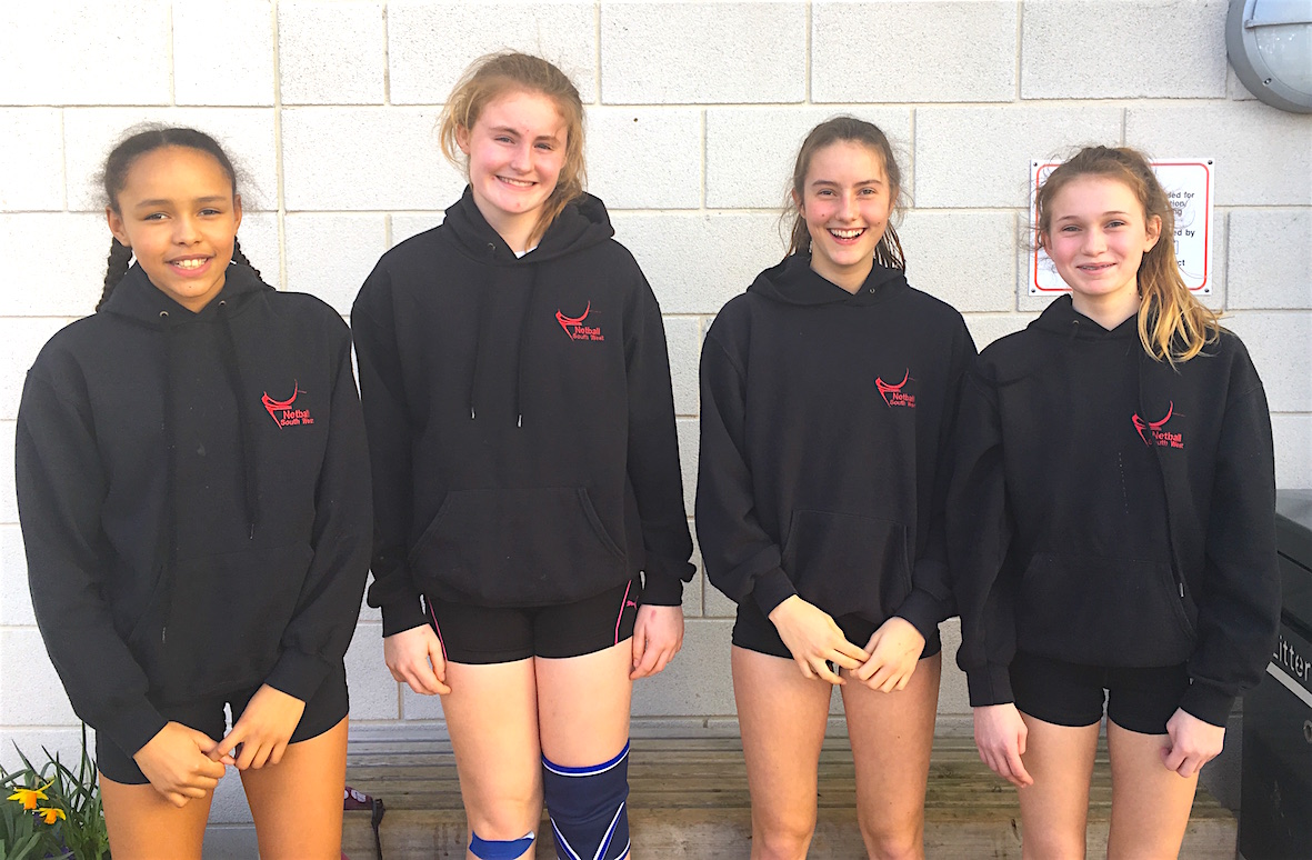 County Netball players web